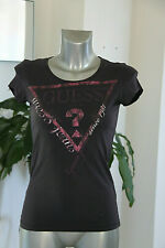 joli tee shirt violet  GUESS JEANS taille XS en EXCELLENT ÉTAT