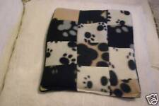 FUN MICROWAVE PAW PRINTS PATCHWORK LAVENDER WHEAT BAG  RELAXATION & PAIN RELIEF