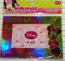 """New Disney Junior MINNIE MOUSE Bow-Tique  4"""" x 6""""  Magnetic Picture Frame"""