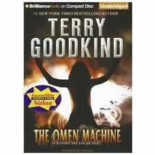 The Omen Machine Sword of Truth by Terry Goodkind (2012, CD, Unabridged) - NEW!