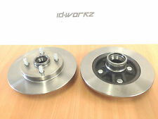 Toyota Starlet Glanza GT Turbo Rear Brake Discs EP82 EP91 (ABS)