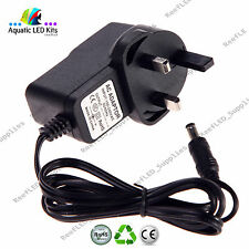 Replacement 10V AC-DC 1000mA 1A Adaptor Power Supply Plug 5.5 x 2.1 x 10 mm (UK)