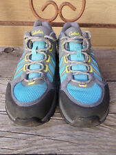 Cabela's XPG Blue Gray Gore-Tex Vibram Hiking Shoes Women's 8.5 M