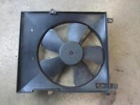 05-06 CHEVY AVEO Engine Cooling Motor Fan Assembly w/ AC opt C60