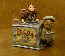 """Boyds MUSICALS #271050 COCOA M ANGELRICH and SCOOP, 4"""", NEW From Retail Shop"""