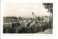 Datschitz Stadtansicht with deutsches reich stamp  Vintage Postcard D01