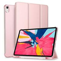 For iPad Pro 11'' 2018 Case Translucent Frosted Back Cover with Pencil Holder
