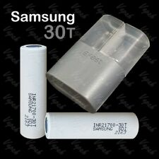 2 SAMSUNG 30T INR 21700 3000mAh/35A High Drain Rechargeable Battery / Efest Case