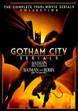 Gotham City Serials: Batman (1943) / Batman and Robin (1949) (DVD) - NEW!!