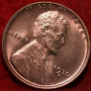 Uncirculated Red 1930-D Denver Mint Copper Lincoln Wheat Cent