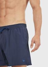 Boxer costume da bagno uomo pantaloncino mare piscina blu   EMPORIO ARMANI
