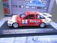 FORD Sierra Cosworth RS Rallye 1987 Haspengouw Droogmans Belga Minichamps  1:43