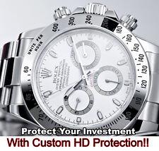 For Rolex Daytona Crystal Protector HD Clear anti-scratch, w/Bezel n Side