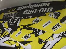 GRAPHICS BRP Can-am 500 - 1000 Renegade decals kit 2006-2017 [870] yellow