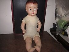 Composition And Cloth Antique Doll
