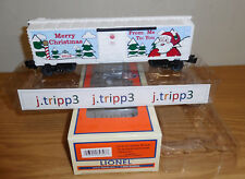 LIONEL 6-84747 CHRISTMAS 2018 BOXCAR O GAUGE TOY TRAIN SANTA HOLIDAY FREIGHT NEW