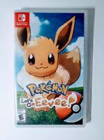 Pokemon Let's Go Eevee Nintendo Switch 2018 Rated E Role Playing New Sealed