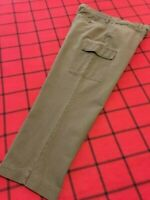 EDDIE BAUER RELAXED FIT MEN'S Sz 36 X 28.5 QUALITY KHAKI OUTDOOR CARGO PANTS