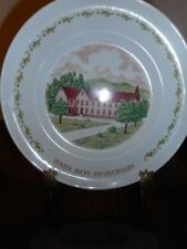 "Tenth Avon Anniversary ""The California Perfume Company"" Enoch Wedgood Plate"