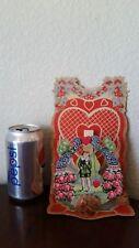 Vintage Standup Honeycomb Valentine'S Day Cards / Boy Fishing