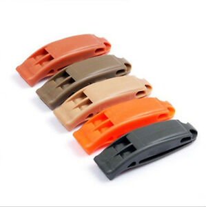 2x Enduring Best Whistle Camping Hiking Boating Survival Distress Marine、New^lk