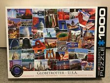 EuroGraphics 1000 Piece Puzzle Globetrotter Series - USA