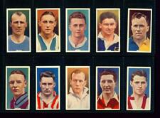 10 x INTERNATIONAL CAPS (FOOTBALLERS) – GODFREY PHILLIPS – 1936