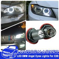 2x High Power 20W LED Angel Eyes Error Free for BMW E39 E60 Halo Ring Light Bulb