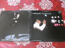 Yves Montand olympia 81 double LP Canada pressing