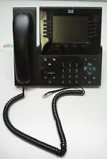 Cisco CP-8961 CP-8961-CL-K9 V08 IP Business Phones w/ Handset & Stand