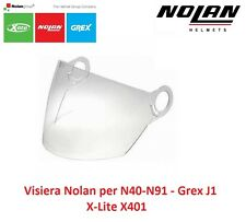 Visiera Trasparente Originale Nolan per Casco N40 - N91 / Grex J1 / X-Lite X401
