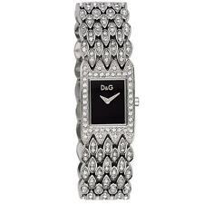 Orologio D&G Donna Sundown Dolce & Gabbana Acciaio Cristalli Nero DW0076