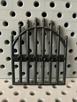 NEW  Strong Arched Castle Sliding Gate  GRAY LEGO LEGOS