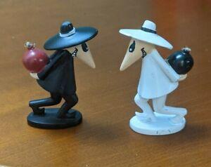 Spy vs Spy Mad Magazine Miniature figures. RARE.