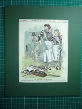 "SUFFRAGE. "" THE POLITICAL LADY- CRICKETERS "" 1892."