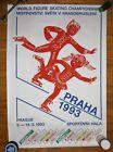 Original POSTER 1993 WORLD FIGURE SKATING CHAMPIONSHIPS Prague, Czech Republic