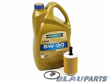 VW TDI Oil Change Kit Jetta Beetle Golf 2.0L CBEA CJAA 09-14 RAVENOL VW 507 00