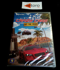 CRAZY CARS HIT THE ROAD PC Pal-España Español NUEVO Factory SEALED Precintado