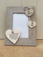 Shabby personalised Chic Photo Frame Auntie Aunty Great Aunt Gift  Present