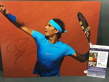 RAFAEL NADAL SIGNED AUTO 11X14 PHOTO TENNIS ATP WIMBLEDON FRENCH OPEN JSA N25564