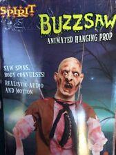 spirit Halloween BuzzSaw Animated Hanging Scary