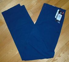 Under Armour Boys Golf Pants Chinos Loose Fit Match Play Blue 32 x 30 (Size 20)