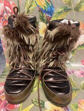 Oneill Furry Monster Festival Snow Moon Boots Size 40-41 Preloved