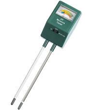 Nature® pH- & Feuchtigkeitsmesser pH-Wert Messgerät für Pflanzen Bodentester