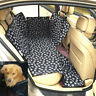 Pet Car Seat Cover Rear Back Mat Protector Safety Cushion Waterproof Portable