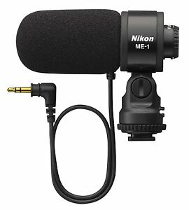 NIKON OFFICIAL STEREO MICROPHONE ME-1 FROM JAPAN F/S WITH TRACKING NUMBER NEW