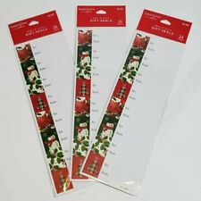 Hallmark Inspirations Christmas Wrap Gift Tags Seals Stickers 10 packs 240 count