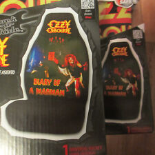 OZZY OSBOURNE Diary of a Madman Car Bucket Seat Covers; Lot of 2 New in Package