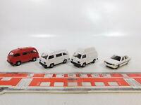 CA597-0,5# 4x Rietze 1:87/H0 Wohnmobil etc Mitsubishi: L 300 + Galant, NEUW