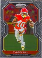 Tyreek Hill 2020 NFL Panini Prizm Football Chrome Card #120 Kansas City Chiefs